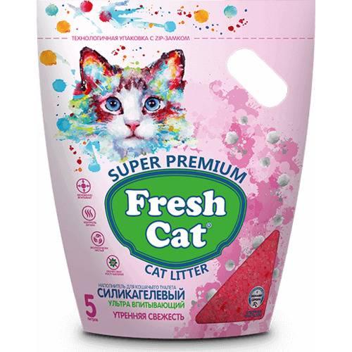 Наполнитель силикагелевый Fresh Cat® Утренняя свежесть