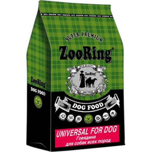 ZooRing Universal For Dog  ГОВЯДИНА ДЛЯ СОБАК ВСЕХ ПОРОД 10кг, 20кг