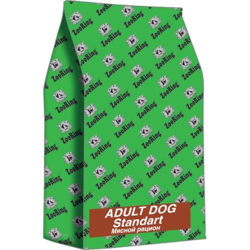 Сухой корм для  собак ZooRing Adult Dog Standart  МЯСНОЙ РАЦИОН 2 кг., 10 кг, 20 кг.