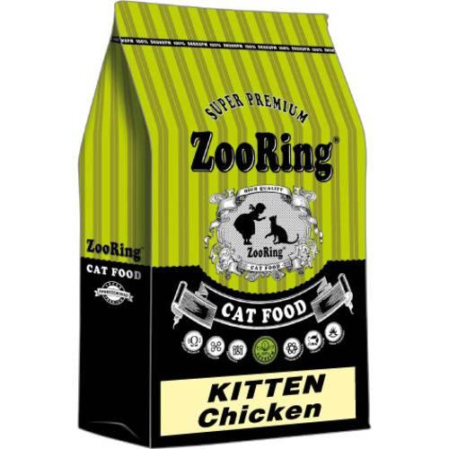 Сухой корм ZooRing KITTEN Chicken для котят цыпленок