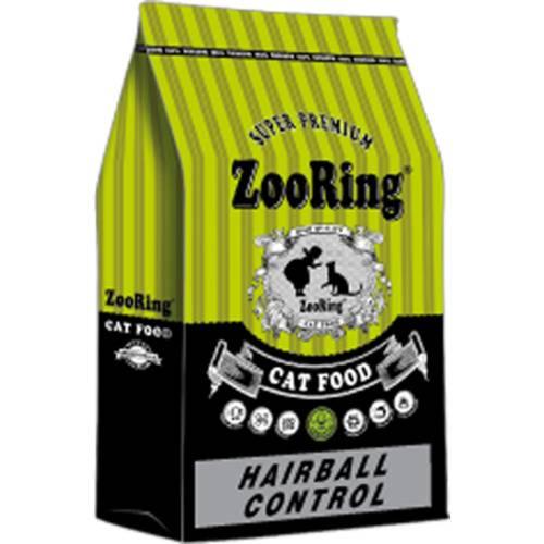 Сухой корм ZooRing HAIRBALL CONTROL контроль волосяных комочков