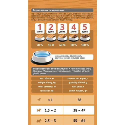 ProBalance Immuno Adult Mini Корм сухой для взрослых собак миниатюрных пород, 0,5 кг