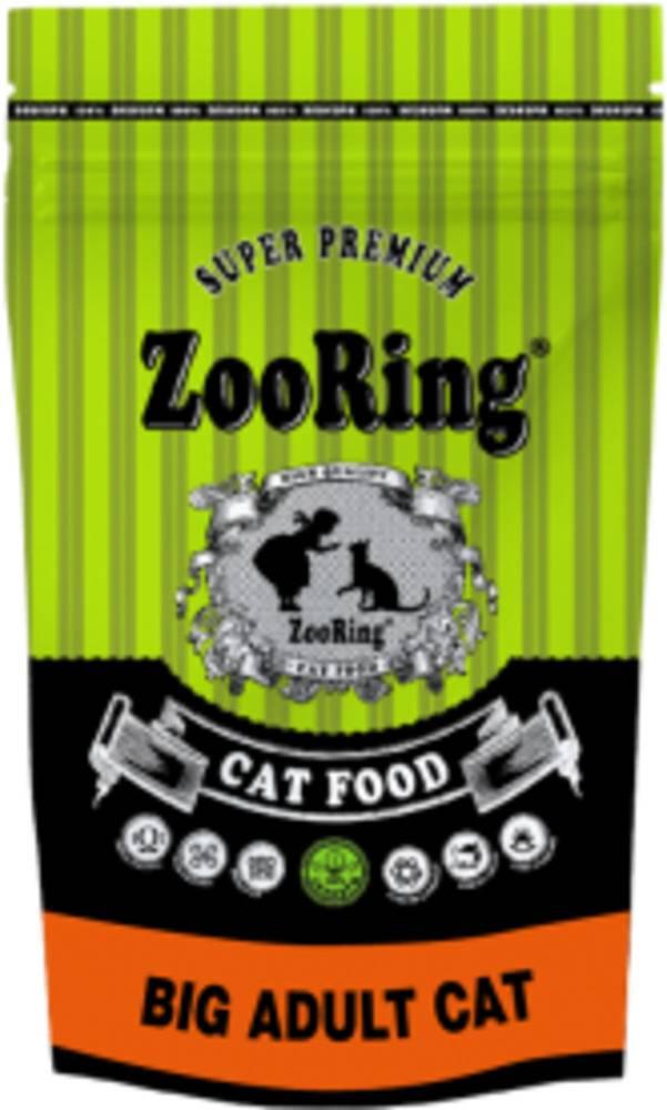 Сухой корм ZooRing BIG ADULT CAT для кошек крупных пород 1,5кг.